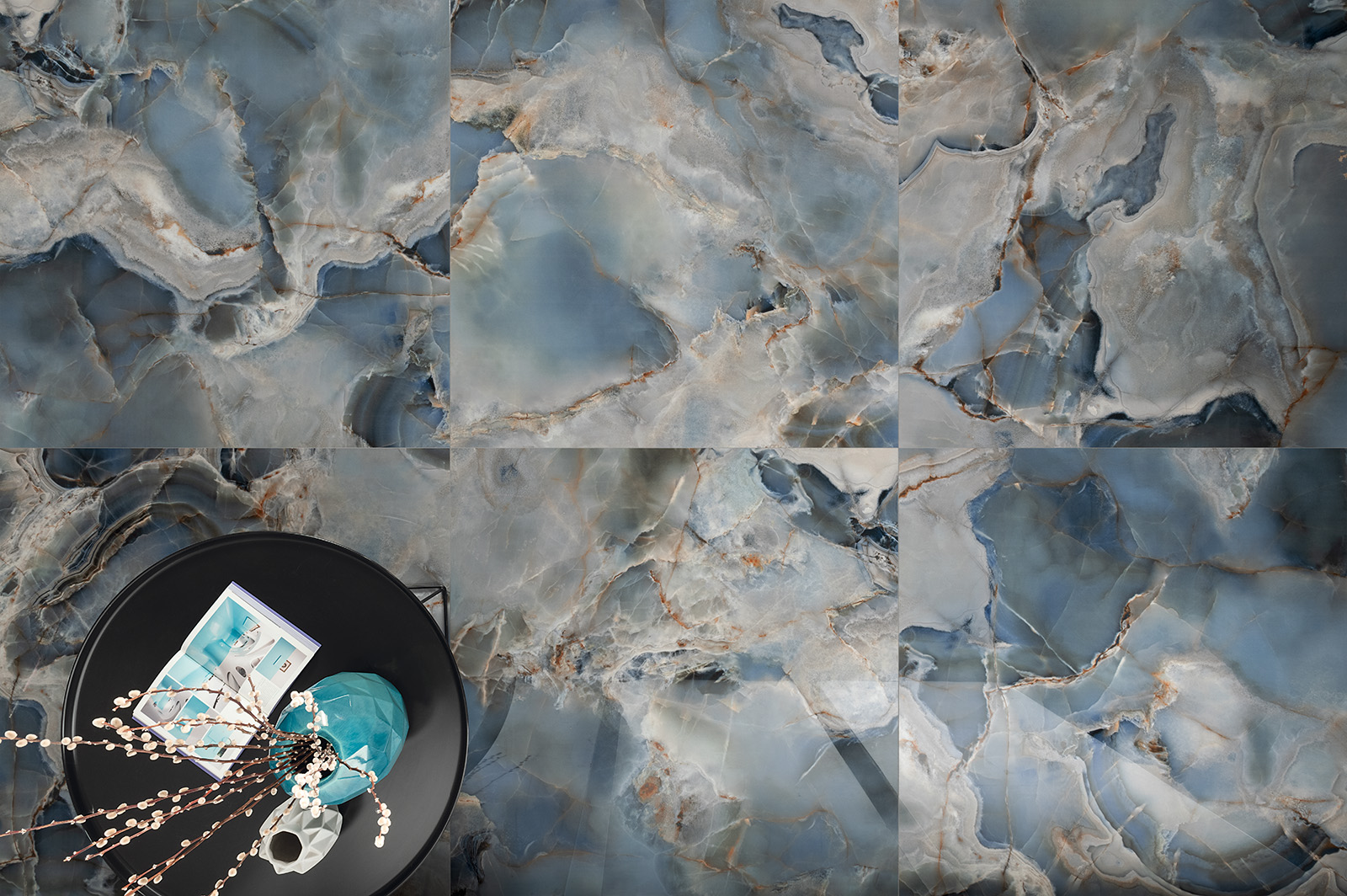 Tagina-Onice Reale-Oceano 120x120 lucidato-zenitale-p